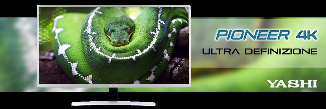 Yashi - monitor 4k